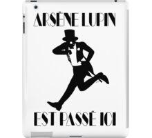 Arsène Lupin est passé ici iPad Case/Skin