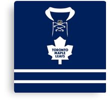 Toronto Maple Leafs 2010-16 Home Jersey Canvas Print