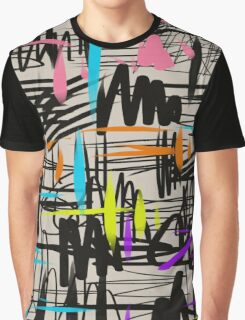 Playful scribbles Graphic T-Shirt