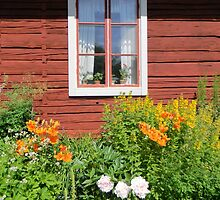 Flowers in the Window by Kathleen Brant
