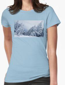 mountain fir Womens Fitted T-Shirt