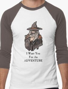 I want you for an adventure Men's Baseball ¾ T-Shirt