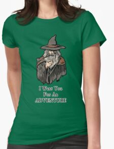 I want you for an adventure Womens Fitted T-Shirt