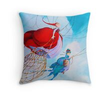 Out Gathering Throw Pillow