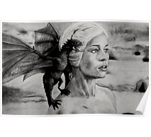 Mother of dragons Poster
