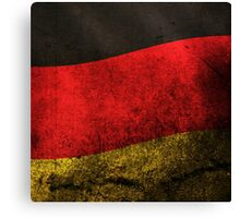 Germany Flag Canvas Print