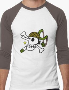 One Piece - Usopp Pirate Flag Men's Baseball ¾ T-Shirt