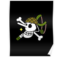 One Piece - Usopp Pirate Flag Poster