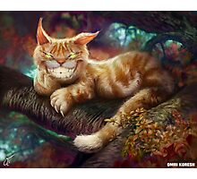 Cheshire Cat, Grin Wonderland Photographic Print