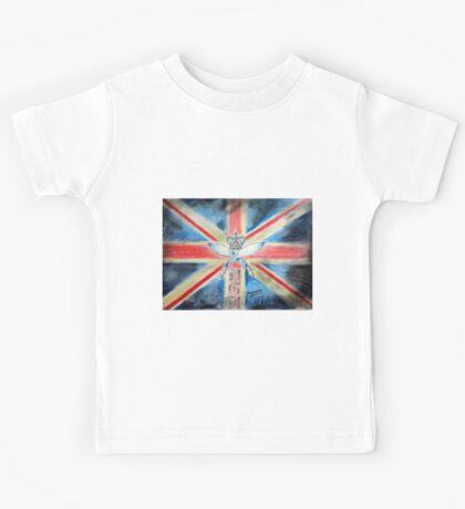 I am british  Kids Tee