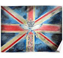 I am british  Poster