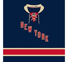 New York Rangers Alternate Jersey Photographic Print