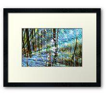 Elven Magic Framed Print
