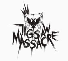 Jigsaw Massacre Band Tee by Asri Rahim
