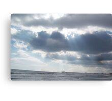 Ocean & Clouds Canvas Print