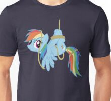 Tied-up pony Unisex T-Shirt