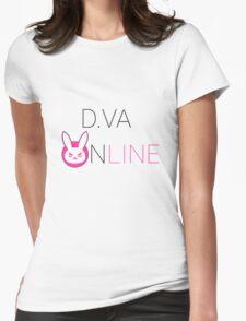 d.VA Online! Womens Fitted T-Shirt