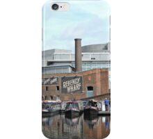 Boats at Regency Wharf, Birmingham iPhone Case/Skin