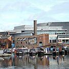 Boats at Regency Wharf, Birmingham by CreativeEm