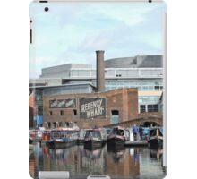 Boats at Regency Wharf, Birmingham iPad Case/Skin
