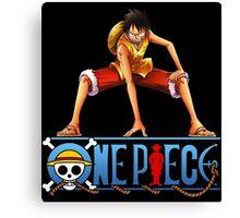 One Piece - Monkey D. Luffy Canvas Print