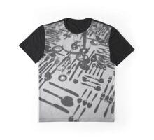 OCD Cutlery Graphic T-Shirt