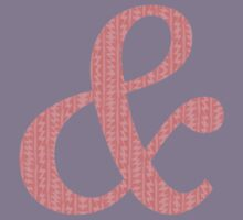 Coral Patterned Ampersand Kids Tee