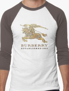 BURBERRY Men's Baseball ¾ T-Shirt