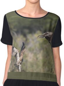 Juvenile Raptor Play Chiffon Top