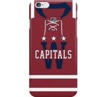 Washington Capitals 2015 Winter Classic Jersey iPhone Case/Skin