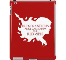 Oberyn Martell- Red Viper (White) iPad Case/Skin
