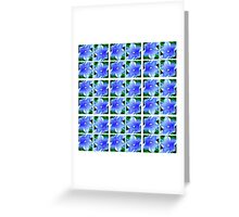 Blue2 Greeting Card