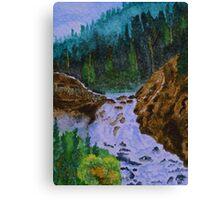 Color at Firehole Falls Canvas Print