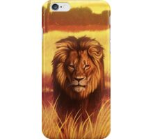 Lion The King of All Animals iPhone Case/Skin