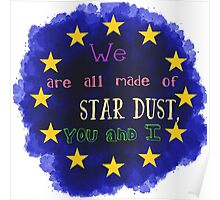 Europe - a star chart Poster