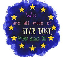Europe - a star chart Photographic Print