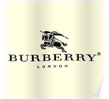 BURBERRY Poster