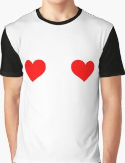 Two hearts Graphic T-Shirt