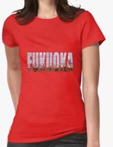 Fukuoka Womens Fitted T-Shirt