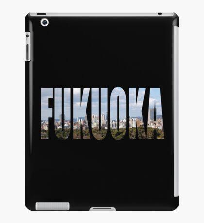 Fukuoka iPad Case/Skin