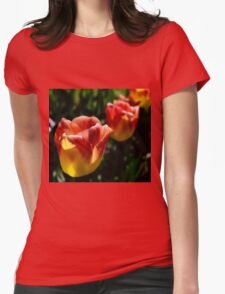 tulips 3 Womens Fitted T-Shirt