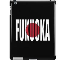 Fukuoka. iPad Case/Skin