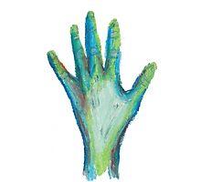 Zombie Hand Photographic Print