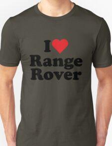 I Heart Love Range Rover T-Shirt