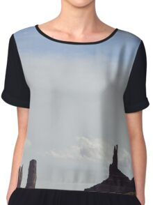 Monument Valley 2 Chiffon Top