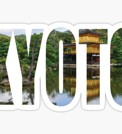 Kyoto Sticker
