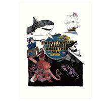 """20,000 Leagues under the Sea"" The Graphic Novel  Art Print"
