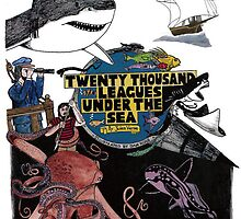 """20,000 Leagues under the Sea"" The Graphic Novel  by DanRoss"