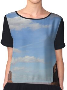Monument Valley 5 Chiffon Top