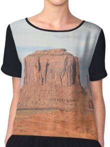 Monument Valley 6 Chiffon Top